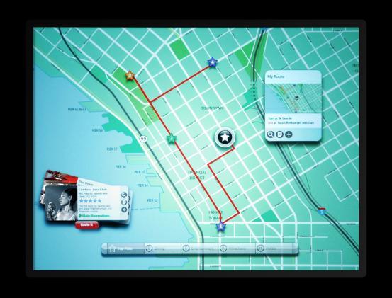 Microsoft Surface map app